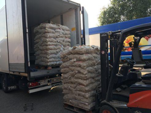 Afgelopen zaterdag de laatste Agria oogst 2016 geladen voor Spanje